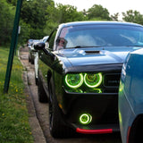 2008-2014 Dodge Challenger ORACLE LED Surface Mount Waterproof Halo Kit
