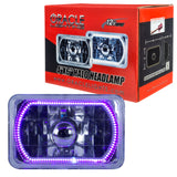 "ORACLE Pre-Installed 4x6"" H4651/H4656 Sealed Beam Halo - UV/Purple SMD"