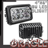 "ORACLE 4""x6"" 40W Replacement LED Headlight"