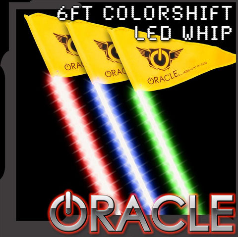 ORACLE Off-Road 6ft ColorSHIFT LED Whip