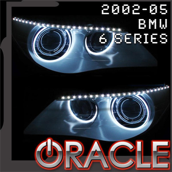 2002-2005 BMW 6 Series ORACLE Headlight Halo Kit