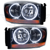 2006 Dodge Ram Pre-Assembled Headlights - Black