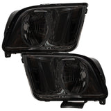 2005-2009 Ford Mustang  Pre-Assembled Headlights - Black