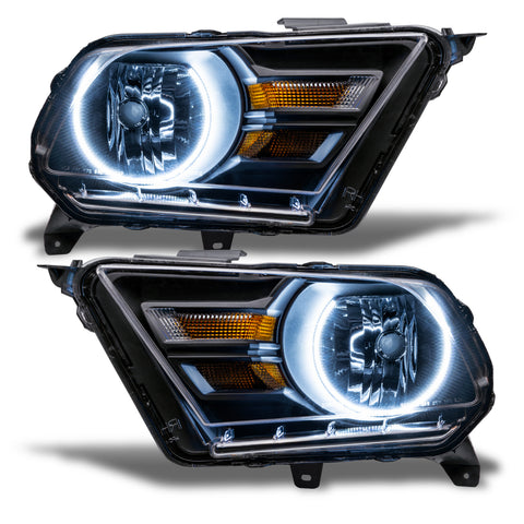 2010-2014 Ford Mustang Pre-Assembled Headlights (Non-HID)