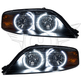 2000-2002 Lincoln LS Pre-Assembled Headlights