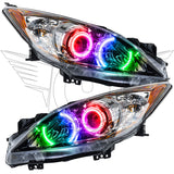 2010-2013 Mazda 3 Pre-Assembled Headlights -  Halogen