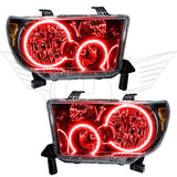 2007-2013 Toyota Tundra Pre-Assembled Headlights-Black