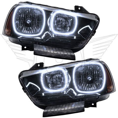 2011-2014 Dodge Charger Pre-Assembled Headlights - Non HID