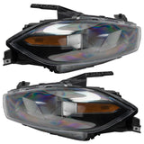 2013-2014 Dodge Dart Pre-Assembled Headlights - Black(HID Style)