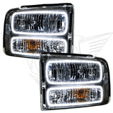 2005 Ford Excursion Pre-Assembled Headlights - Chrome