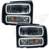 2005 Ford Excursion Pre-Assembled Headlights -Black