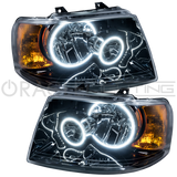 2003-2006 Ford Expedition Pre-Assembled Headlights - Black