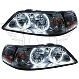 2005-2011 Lincoln Town Car Pre-Assembled Headlights-Non HID