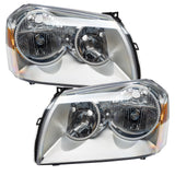 2005-2007 Dodge Magnum Pre-Assembled Headlights - Chrome