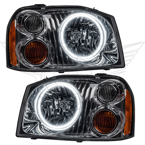 2001-2004 Nissan Frontier Pre-Assembled Headlights
