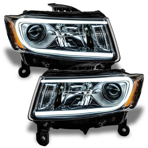2014-2015 Jeep Grand Cherokee Pre-Assembled Headlights-Non HID