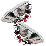 1998-2011 Ford Crown Victoria Pre-assembled Headlights - CHROME - HALOGEN
