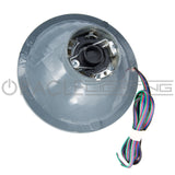 "ORACLE Pre-Installed 7"" Sealed Beam Halo - ColorSHIFT LED"