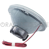 "ORACLE Pre-Installed 7"" H6024/PAR56 Sealed Beam Halo - Red LED"