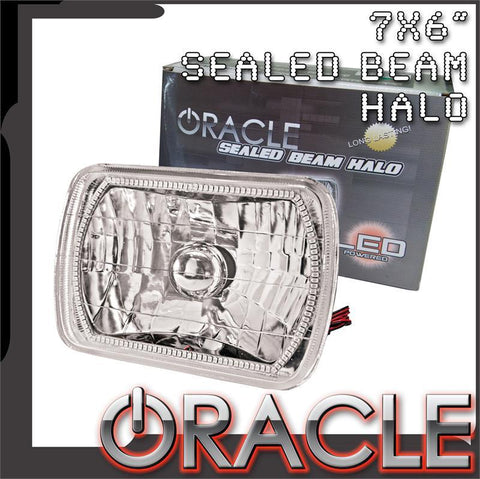 "1986-1997 Mazda RX7 FC ORACLE Pre-Installed 7x6"" H6054 Sealed Beam Headlight"