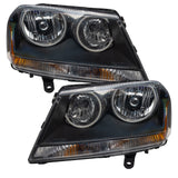2008-2013 Dodge Avenger RT Pre-Assembled Headlights-Black
