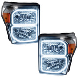 2011-2016 Ford F-250/F-350 ORACLE Headlight Halo Kit (Square Ring Design)