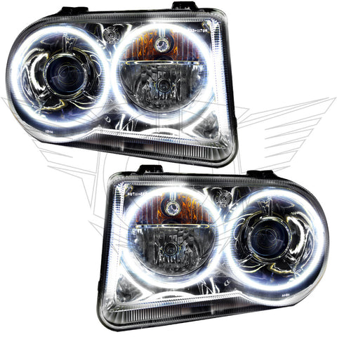 2005-2010 Chrysler 300C Pre-Assembled Headlights - HID Style