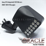 ORACLE Jeep Wrangler JK LED Off-Road Side Mirrors