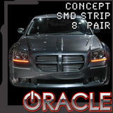 "ORACLE ""Concept"" LED Strips- 8"" Pair"