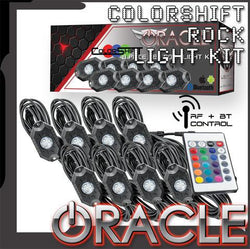 ORACLE ColorSHIFT Underbody Wheel Well Rock Light Kit