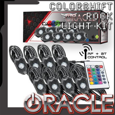 ORACLE Bluetooth + RF ColorSHIFT Underbody Rock Light Kit - 8 Piece