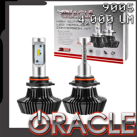 2016-2018 Chevy Camaro Non-Rs ORACLE 9005 4,000+ Lumen LED Headlight Conversion Kit - High Beam