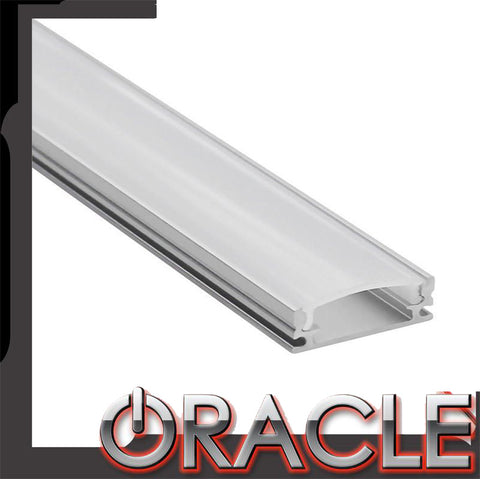 "ORACLE Lighting 40"" Frosted Diffuser Aluminum Channel for LED Flexible Strip"