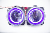 2000-05 Ford Focus SVT/03-04 Mustang SVT/05-07 Escape Fog Lights - ORACLE Purple U/V LED Halos