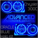 Chrysler 300C/SRT-8 Blue ORACLE Halo Kit
