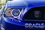 2013-2014 Ford Mustang ORACLE Halo Kit - HID (Projector) Style