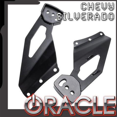 1999-2006 Chevy Silverado ORACLE Off-Road LED Light Bar Roof Brackets