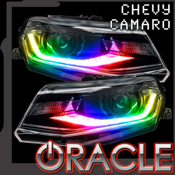 ORACLE Lighting 2016-2018 Chevrolet Camaro Dynamic ColorSHIFT® Headlight DRL Upgrade Kit