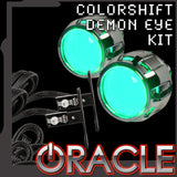 ORACLE ColorSHIFT Projector Demon Eye Headlights