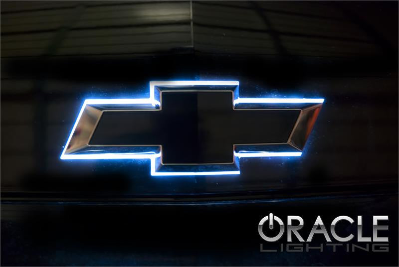 2014 2015 Chevy Illuminated Led Rear Bowtie Emblem Advanced