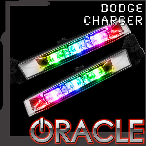 2015-2019 Dodge Charger ORACLE ColorSHIFT RGB+W Linear Fog Light Conversion Kit