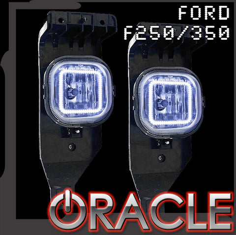 2005-2007 Ford F250/F350 ORACLE Fog Light Halo Kit