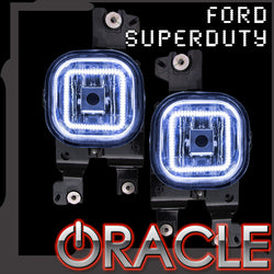 2008-2010 Ford F-250/F-350 Super Duty ORACLE Fog Light Halo Kit
