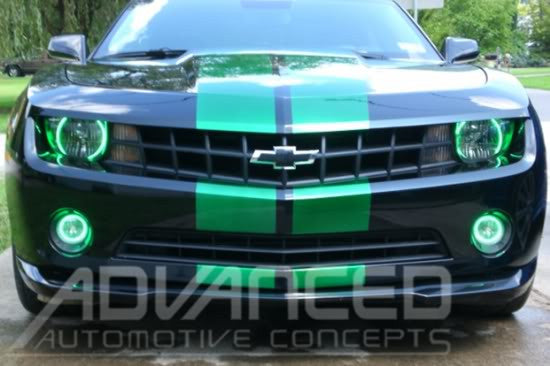 2010 2013 Chevy Camaro Oracle Fog Light Halo Kit Oracle