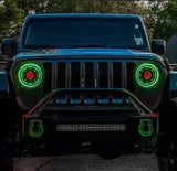 ORACLE Lighting Oculus™ ColorSHIFT Bi-LED Projector Headlights for Jeep JL / JT