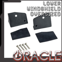 ORACLE Jeep JK Lower Windshield OVERSIZED Light Mount Brackets (Pair)