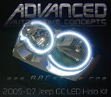 2005-2010 Jeep Grand Cherokee LED Halo Kit