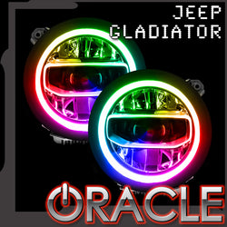 Jeep Gladiator JT ORACLE ColorSHIFT RGB+W Headlight DRL Upgrade