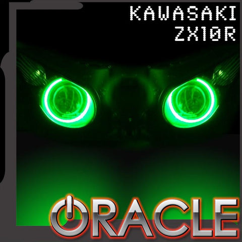 2006-2010 Kawasaki ZX10R ORACLE Motorcycle Halo Kit
