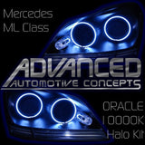 2006-2012 Mercedes ML Class ORACLE Headlight Halo Kit